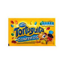Confeito de Chocolate Tortuguita Arcor Display com 12un de 40g