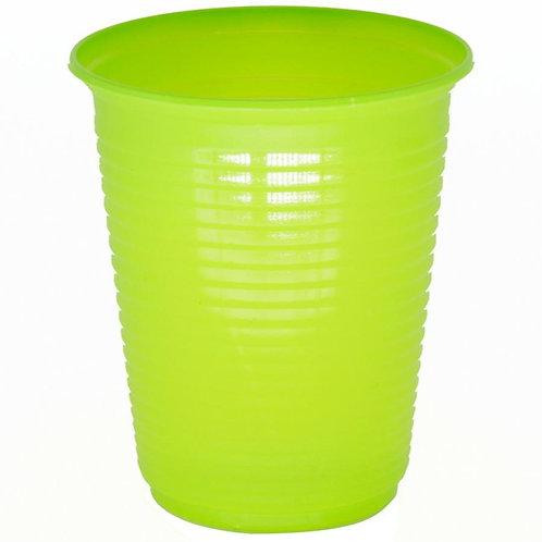Copo Dudigo Verde Limão 200mls com 50 unidades.
