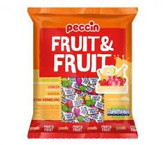 Bala Fruit & Fruit 600g Peccin