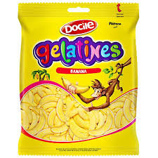 Bala Gelatines Banana 250g Docile