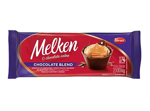 Chocolate em Barra Blend Melken 2,100Kg - Harald