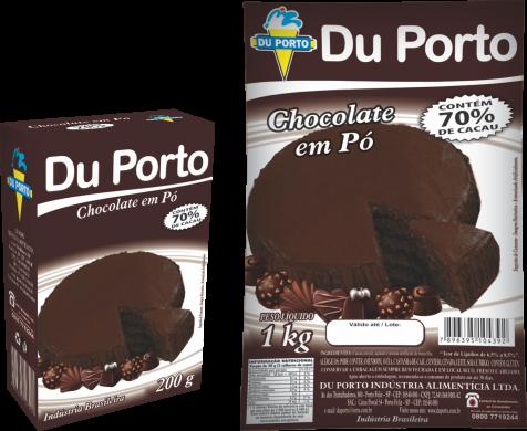 Chocolate em Pó 70% Cacau 1kg Du Porto