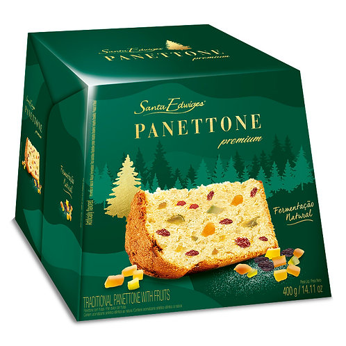 Panettone Santa Edwiges Premiun com Frutas 400g