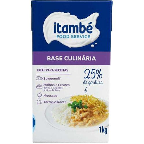 Base Culinária 25% gordura 1kg - Itambé