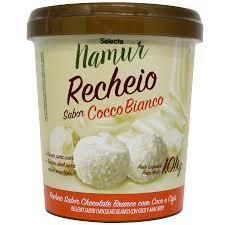 Cocco Bianco - Recheio Sabor Choc. Branco Coco e Caju 1k Mix