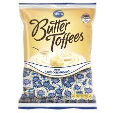 Bala Butter Tofffees Leite Condensado 500g Arcor