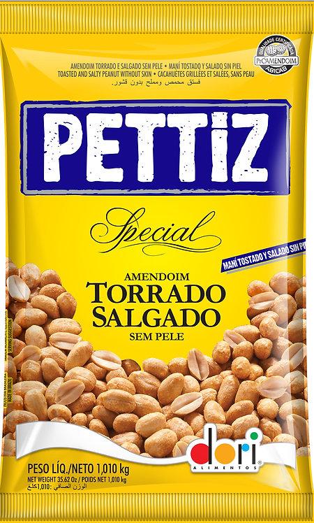 Amendoim Pettiz Special Torrado e Salgado sem pele 1.010kg Dori