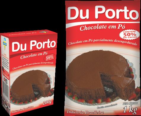Chocolate em Pó 50% Cacau Du Porto 1kg