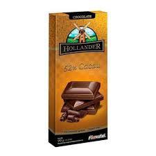 Barra de Chocolate Hollander  52% Cacau  90g Florestal