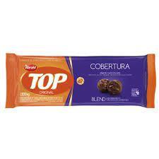 Cobertura Fracionada sabor Chocolate Blend Top Harald 2,1kg em barra