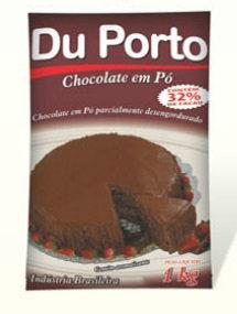 Chocolate em Pó 32% Cacau Du Porto 1kg