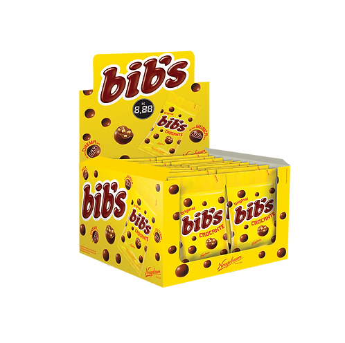Bibs Crocante 720g Display com 18un de 40g cada Neugebauer