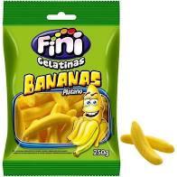 Bala de Gelatina Fini Bananas 250g