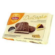 Biscoito Distração Chocolate Branco 360g Marilan