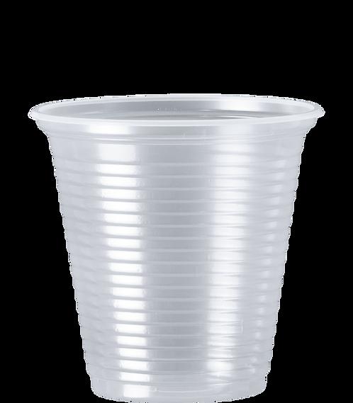 Copo Plástico PS CC-150 TR 150ml Cristalcopo - 100 unidades