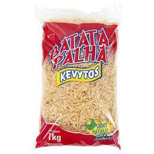 Batata Palha 1kg Kevytos