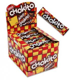 Chocolate Chokito Display Com 30 Unidades