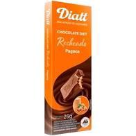 Diatt  Tablete de Chocolate  Ao Leite c/Paçoca  25g Bel