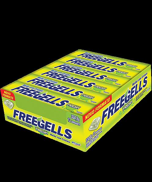 Drops Freegells Play Fresh Melão Display com 12 un Riclan