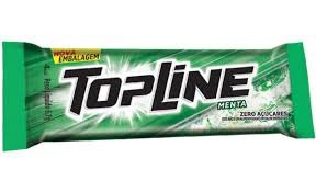 Chicle Topline Menta - Display 20un Arcor