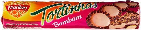 Biscoito Tortinha Bombom 160g Marilan