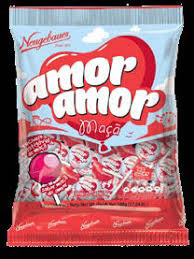 Pirulito PB Amor Amor Maçã 480g Neugebauer