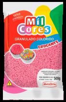 Granulado  Crocante Rosa Mil Cores 500G - Mavalério