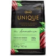 Chocolate Unique Amazônia 70% Cacau 400g Harald em gotas