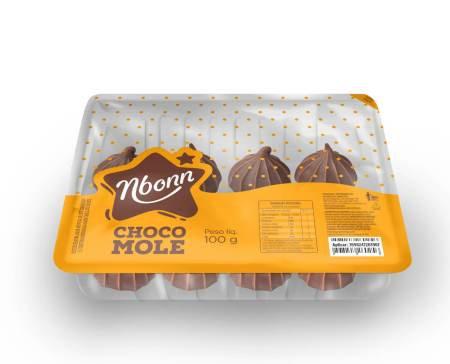 Chocomole Preta Bandeja DEe 100g Nboon