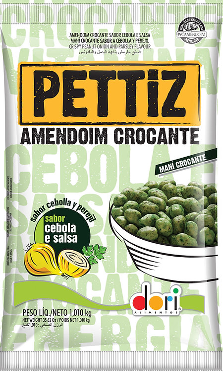 Amendoim Pettiz Cebola e Salsa 1kg Dori