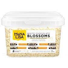 Blossoms Mona Lisa Chocolate Branco 1kg Callebaut