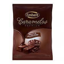 Bala Caramelo Mousse Chocolate Belga  600G Embaré