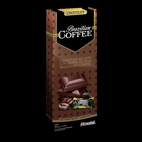 Chocolate Ao Leite com Raspas de Bala Brazillian Doce de 90g - Florestal