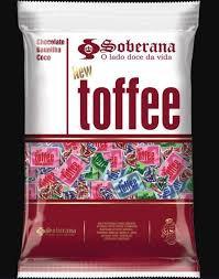 Balas Toffee Sortida 500g Soberana