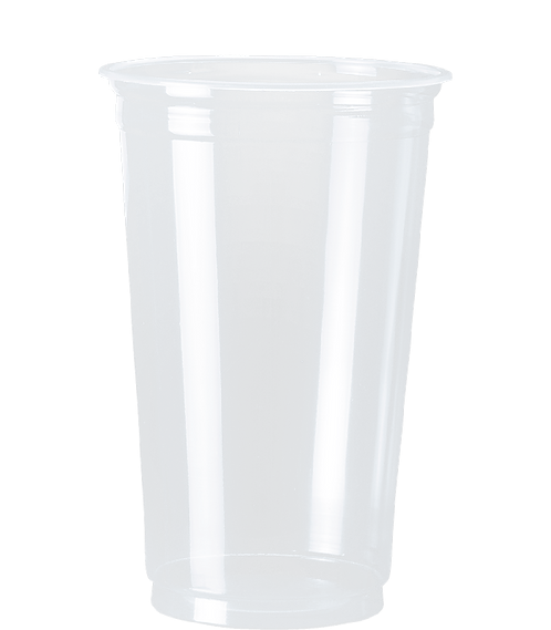 Copo Plástico PP CPM-550 CR Transp. Cristalcopo - 50 unidades