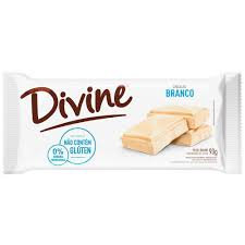 Barra Chocolate Branco 90g Divine