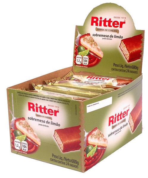 Cereal Ritter Sobremesa de Limão - Dp c/ 24un de 22g