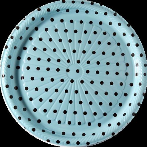 Bandeja B50 Azul Poá - 26,6 X 1,5 -  Neoform