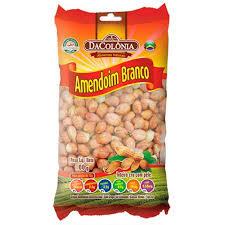 Amendoim Branco Cru c/Pele 400g Dacolonia