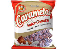 Bala Caramelo Chocolate 600g Simonetto