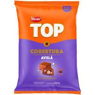 Cobertura em gotas Top Chocolate com 1,050kg Harald