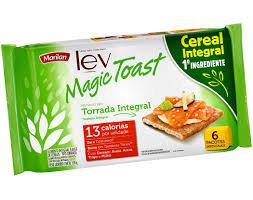 Torrada Lev Magic Toast Integrais 150g Marilan