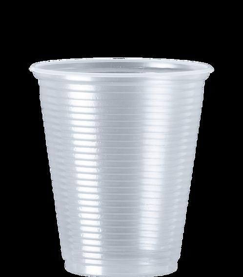 Copo Plástico PS CC-180 TR 180ml Cristalcopo - 100 unidades
