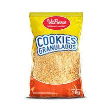 Cookies Granulados sabor Baunilha 1,0Kg VaBene