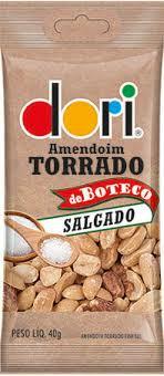Amendoim de Boteco Torrado e Salgado 40g Dori