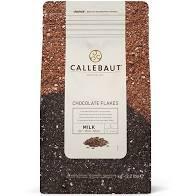 Chocolate Flakes Ao Leite Flocos 9M Callebaut 1kg Sicao