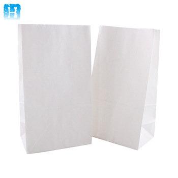 Saco Branco 25x14cm Valepel - Pct c/ 500un