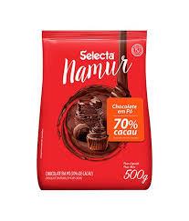 Chocolate em Pó  70% Cacau 500g Namur Selecta