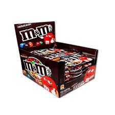 Confeito de Chocolate Ao Leite M&M's Display c/ 18un de 45g