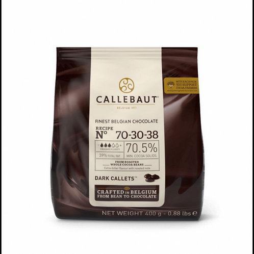Chocolate 70,5% n° 70-30-38 Callebaut 400g Sicao